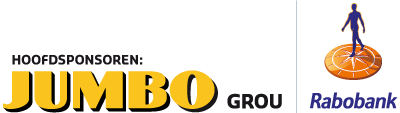 Hoofdsponsoren JUMBO grou en Rabobank