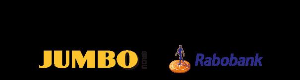 hoofdsponsors JUMBO en Rabobank