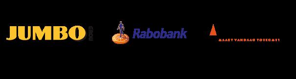 hoofdsponsors JUMBO, Rabobank en Lont Co Sponsor Van Vuuren